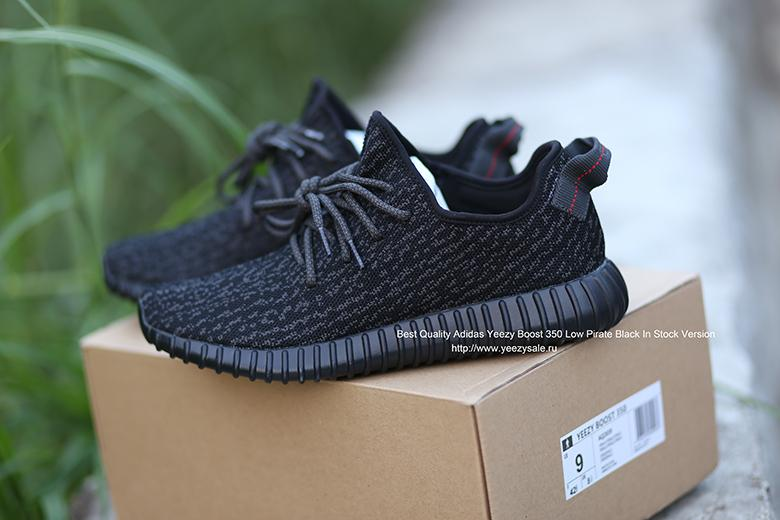 Best Quality Yeezy Boost 350 Low Pirate Black In Stock Version
