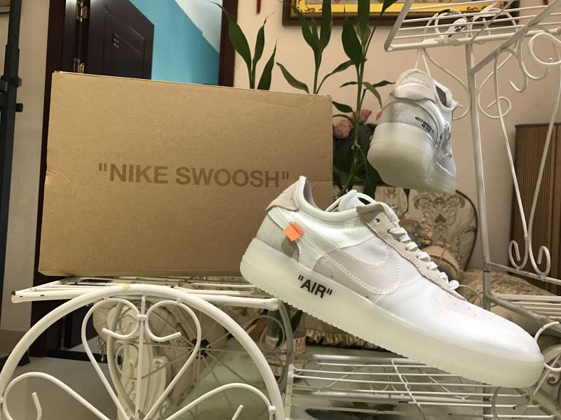 Off-White X Air Force 1 White For Sale AO4606-100