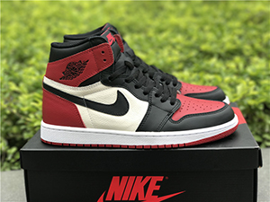 Air Jordan 1 Retro High OG Bred Toe 2018 For Sale