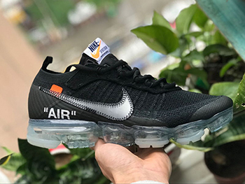 OFF WHITE Air VaporMax TEN For Sale