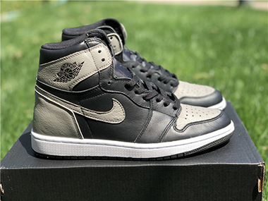 Air Jordan 1 OG Shadow Grey 555088-013 For Sale