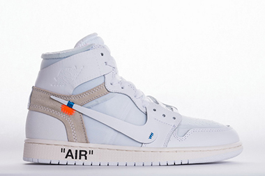 OFF-WHITE x Air Jordan 1 High OG Triple White AQ0818-100 Sale