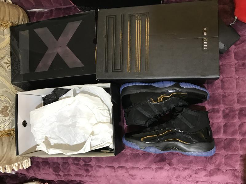 Air Jordan 11 Blackout 378037-005 For Sale