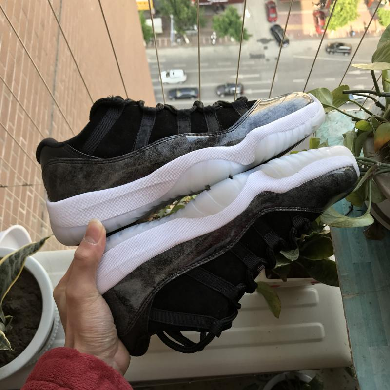 Air Jordan 11 low Barons AJ11 528895-010 Sale