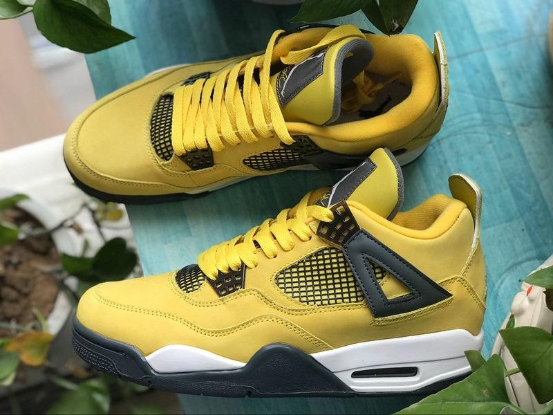 Air Jordan 4 lightning LS AJ4 314254-702 Sale