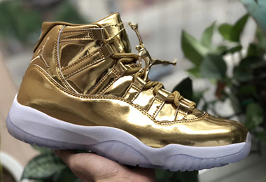 Air Jordan 11 Liquid Gold Sale