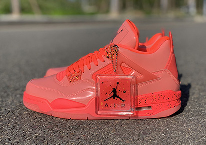 Air Jordan 4 NRG Hot Punch Released Perfect Version