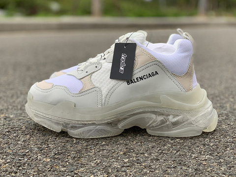 Balenciaga Triple S Clear Sole Trainers Perfect Version Sale