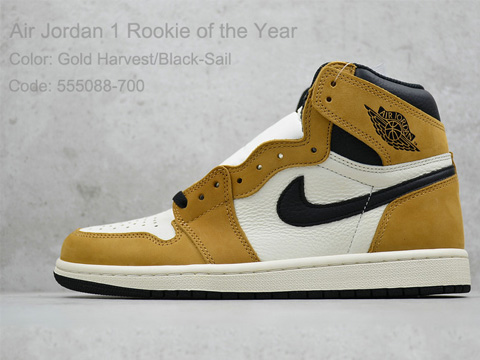 Air Jordan 1 Retro High OG Rookie of the Year Perfect Version Released