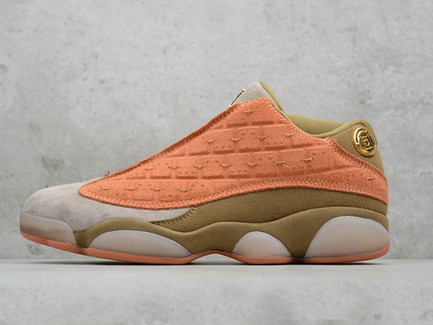 Clot Air Jordan 13 Low Terracotta Blush Red Perfect Version