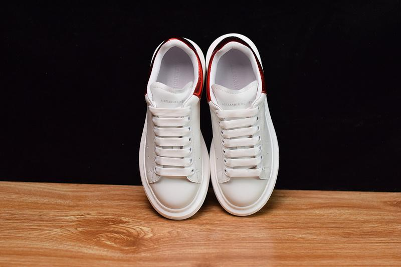 Fashion Shoe White Red 1012