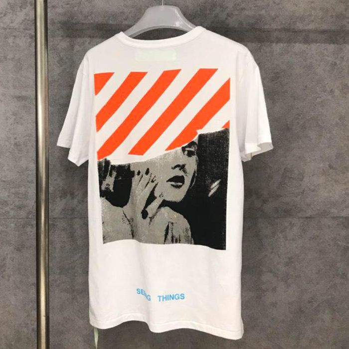 Off White 17FW Marilyn Monroe Tshirt Released