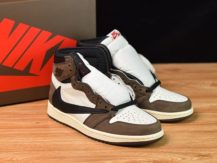 Travis Scott Air Jordan 1 Cactus Jack Perfect Quality Released