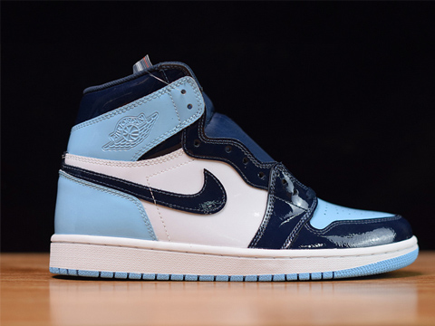 Air Jordan 1 Retro High OG UNC Patent Leather Perfect Quality