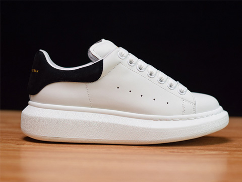 Fashion Shoe White Black 1014