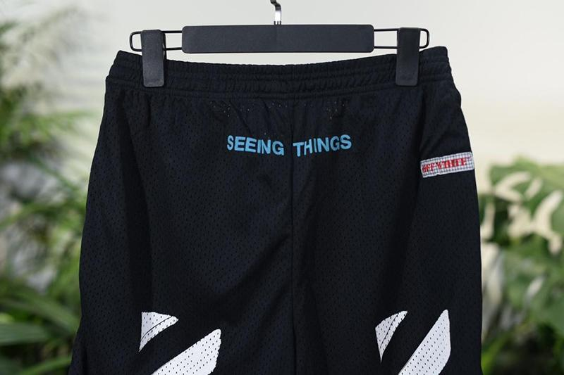 Off White 17FW Mesh Short Pants Released