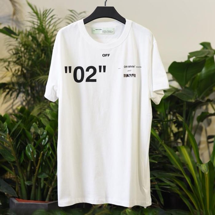 Off White 18SS White For All 02 T-shirt Released