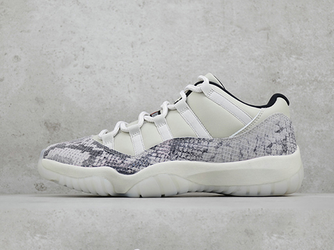 Air Jordan 11 Low Snakeskin Light Bone Released