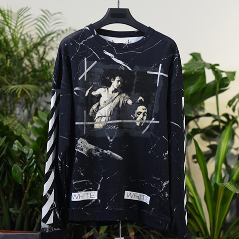 Off White 16FW Marble Religion Pattern Released