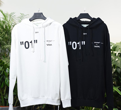 Off White 18SS For All 01 Hoodie Sweatshirts Released