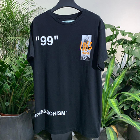 Off-White 19SS Summer 1863 Impressionism Print Tee Released