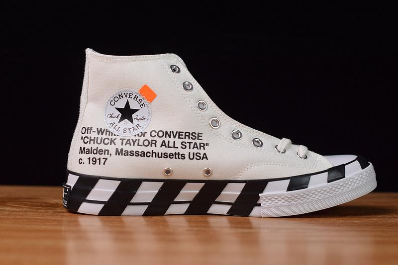 Off-White Converse Chuck 70 Stripe Released