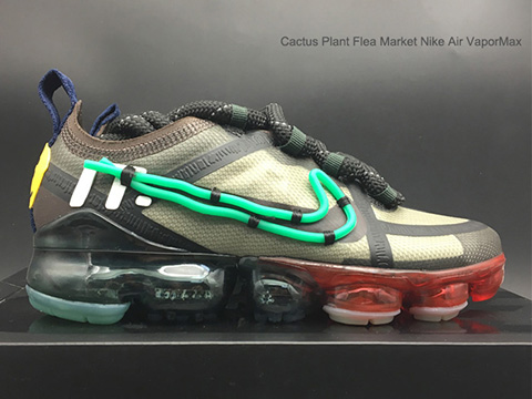 Cactus Plant Flea Market Air VaporMax 2019 Multi-Color Correct Version Released