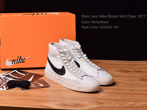 Slam Jam Blazer Mid Class 1977 High Quality Version Released