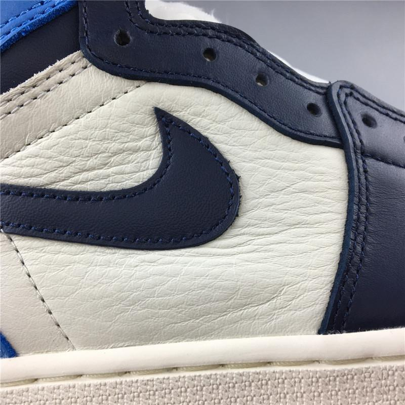 Air Jordan 1 High OG Obsidian University Blue Released