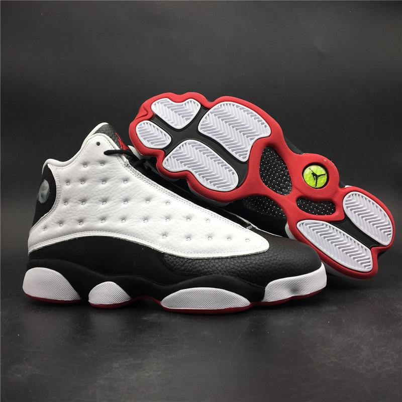Air Jordan 13 He Got Game White Black Released