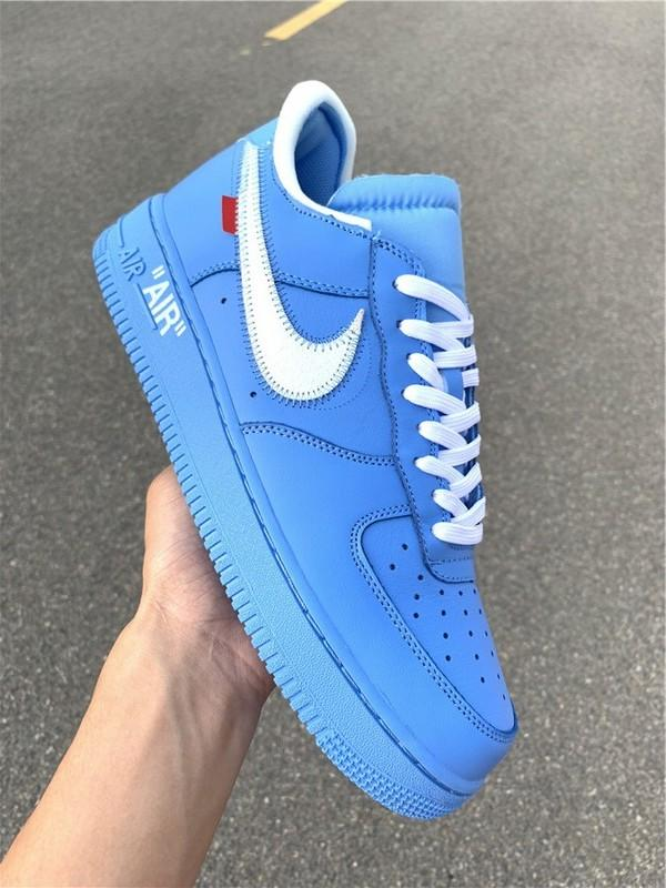 Off-White x Air Force 1 MCA University Blue High Quality Released