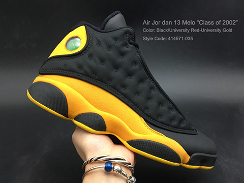 Air Jordan 13 Carmelo Anthony Black University Gold Online Sale