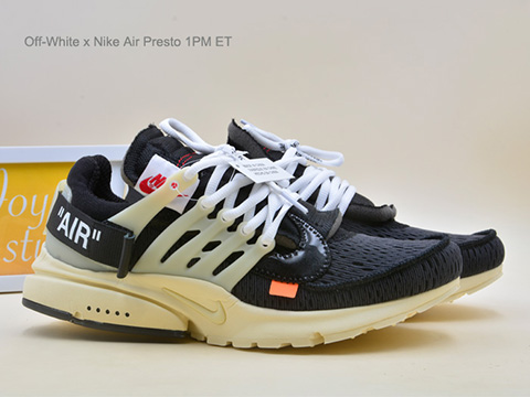 Off-White x Air Presto 1PM ET Black AA3830-001