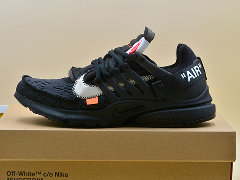 Off-White x Presto Black AA3830-002 For Sale