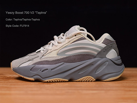 Yeezy Boost 700 V2 Tephra Perfect Quality Version