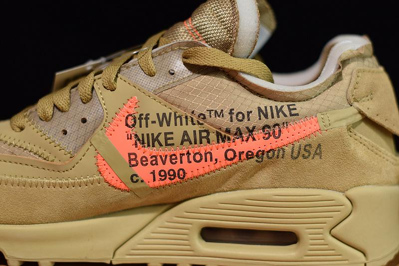 Off-White Air Max 90 Desert Ore Released Sale Online AA7293-200