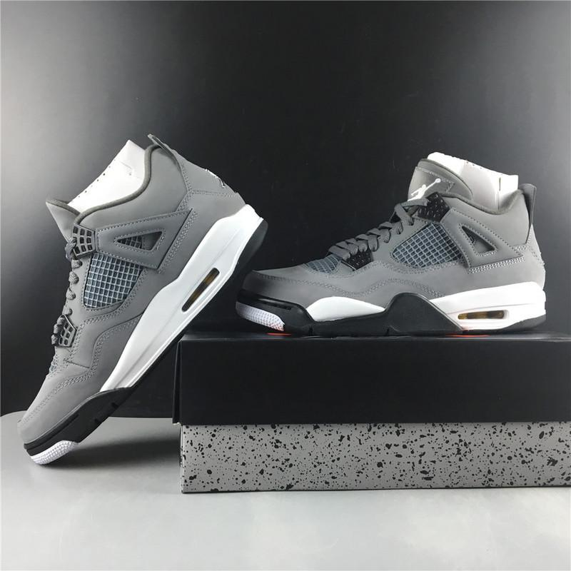 Air Jordan 4 Cool Grey 2019 308497-007 Released