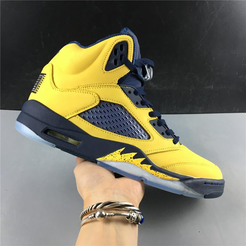 Air Jordan 5 SP Michigan CQ9541-704 Released