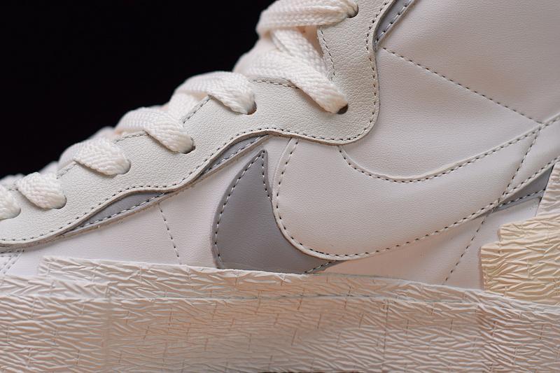 X sacai Blazer BV0072-100 White Grey Sale