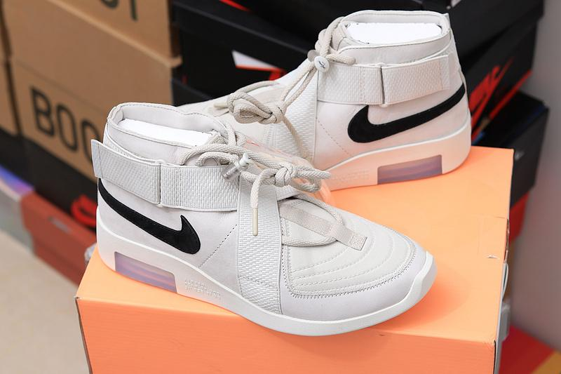 Air Fear Of God 1 Raid 180 FOG AT8087-001 Grey