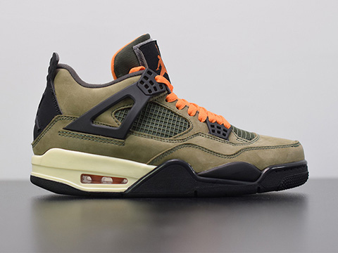 Air jordan 4 X Undefeated Travis Scott Released
