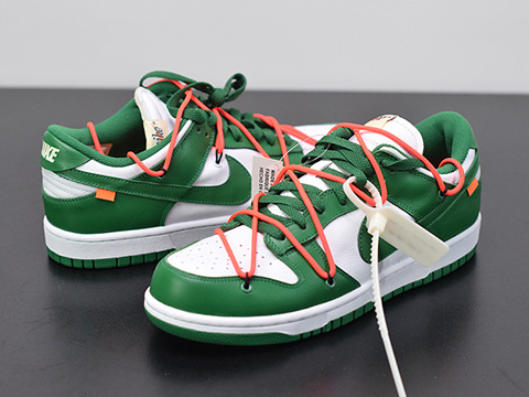 Off-White x Dunk Low CT0856-100 Green Sale