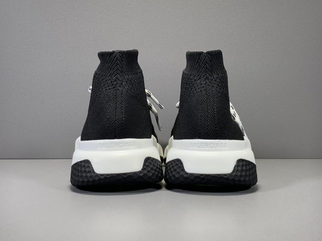 Balenciaga Speed Run stretch-knit Mid sneakers