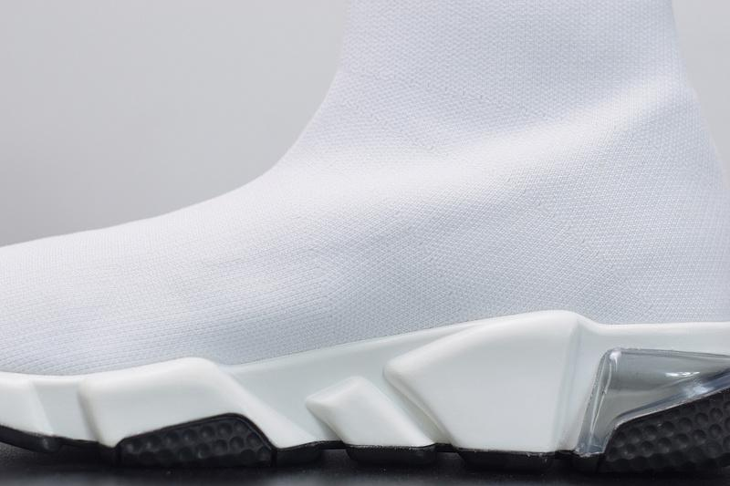 Balenciaga Speed Runner White Released