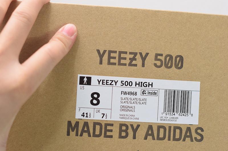 Yeezy 500 High Slate FW4968 For Sale
