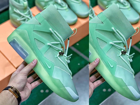 Air Fear of God 1 Green Perfect Version Released