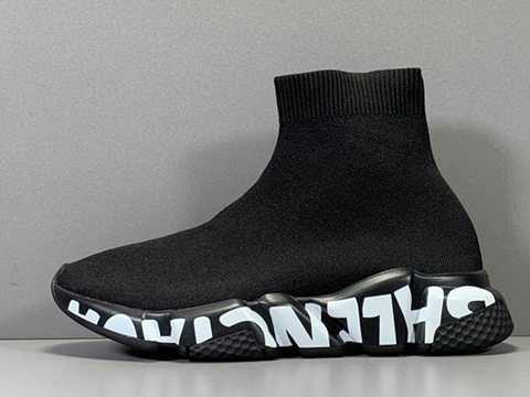 Balenciaga Speed Runner New Sole Black