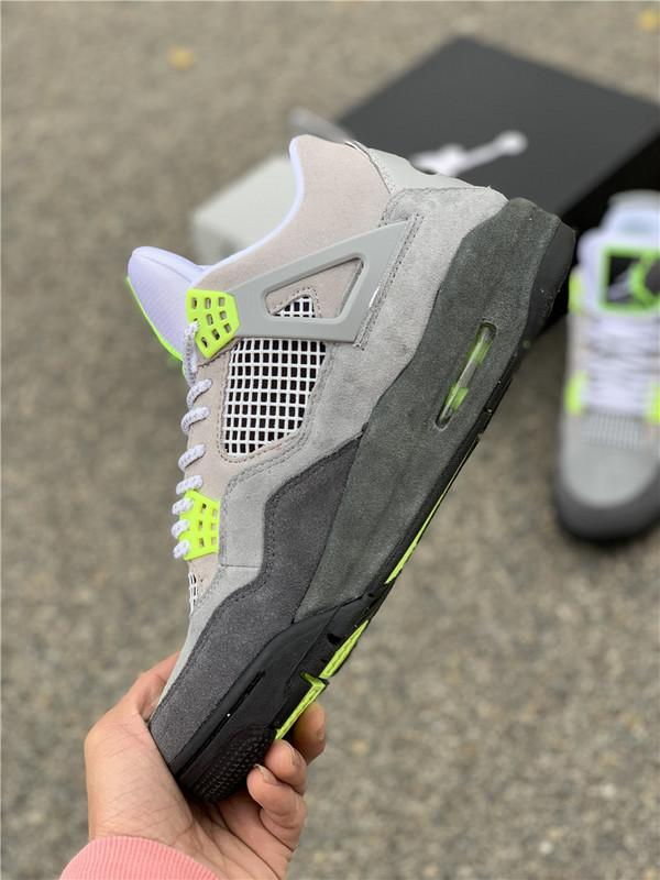 Air Jordan 4 Retro SE Neon 95 CT5342-007 Sale