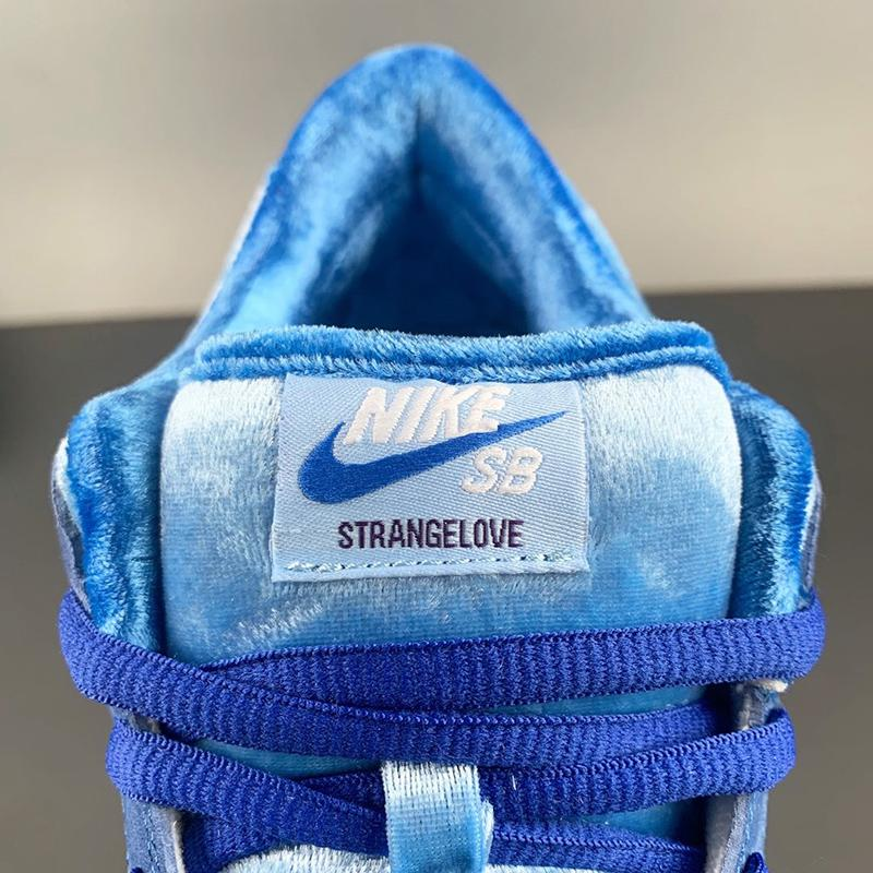 StrangeLove x SB Dunk Low Blue CT2552-400 Sale
