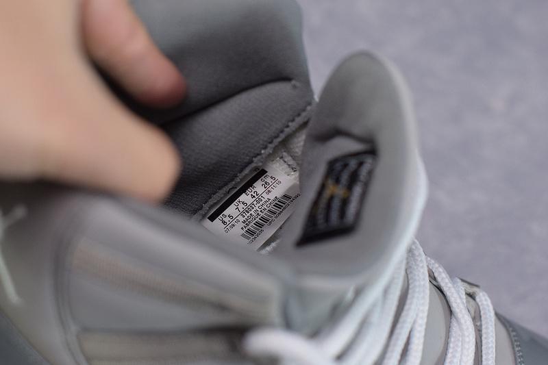 Air Jordan 11 Retro Cool Grey 378037-001 Released